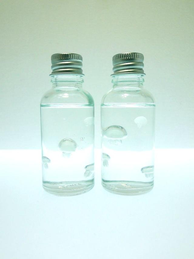 くらげちゃん ぷちアクアリウム ガラスボトル