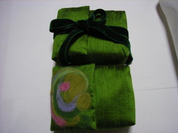 ◆ポーチ 緑の魔女