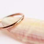 Copper Simple Ring