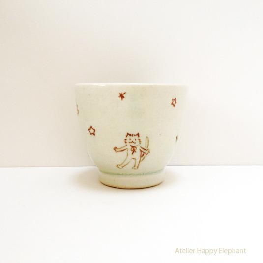 ねこさんと惑星のカップ