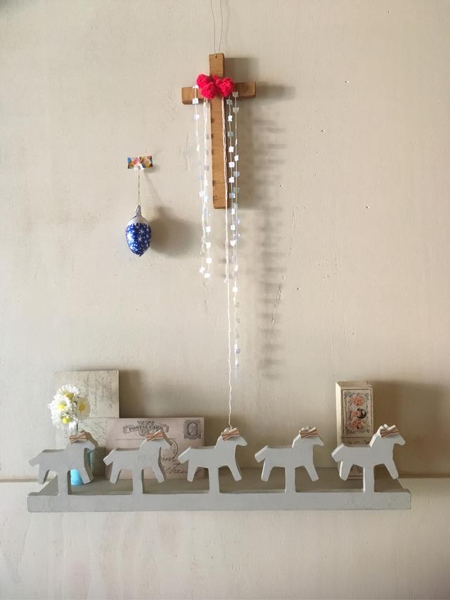 木馬の飾り棚