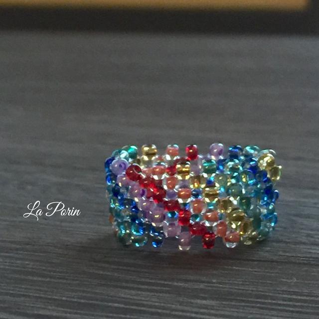 虹色リング