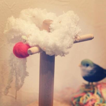 雲とりんごのシュシュ*
