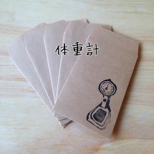ぽち袋【体重計】