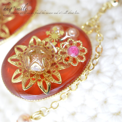 sold out*太陽の花ピアス