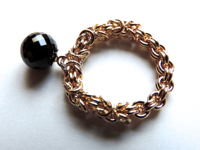 『 BEAUTY BLACK ( style-S )+ 』Ring b...