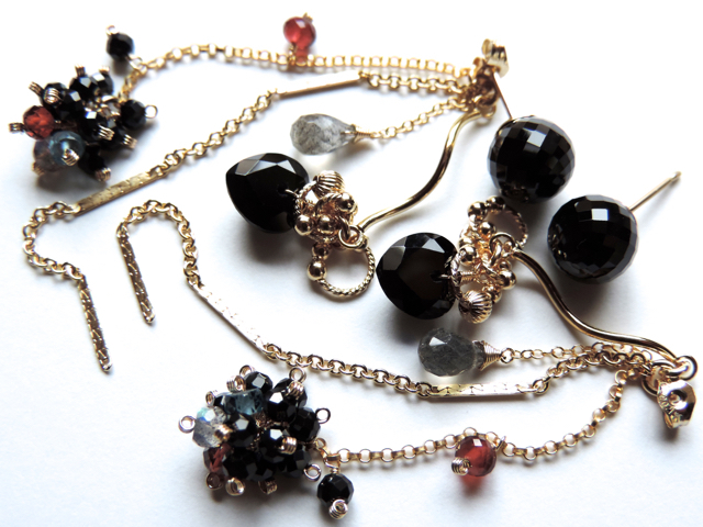 『 BEAUTY BLACK ( style-S ) 』Pierce ...