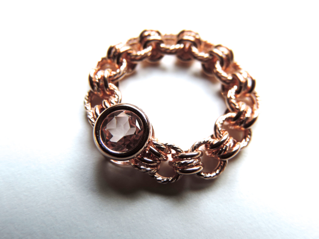 『 Floral note ( heart ) 』Ring by K1...