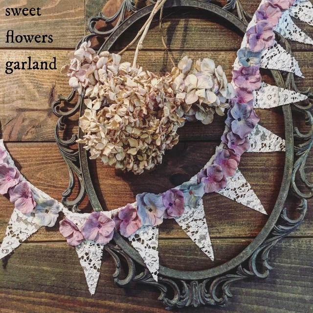 【数量限定】sweet flowers ? garland ...