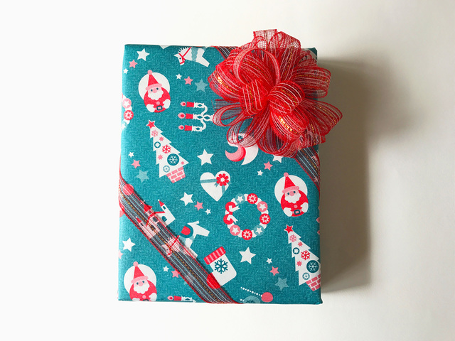 包み紙ークリスマス☆お宝尽くし