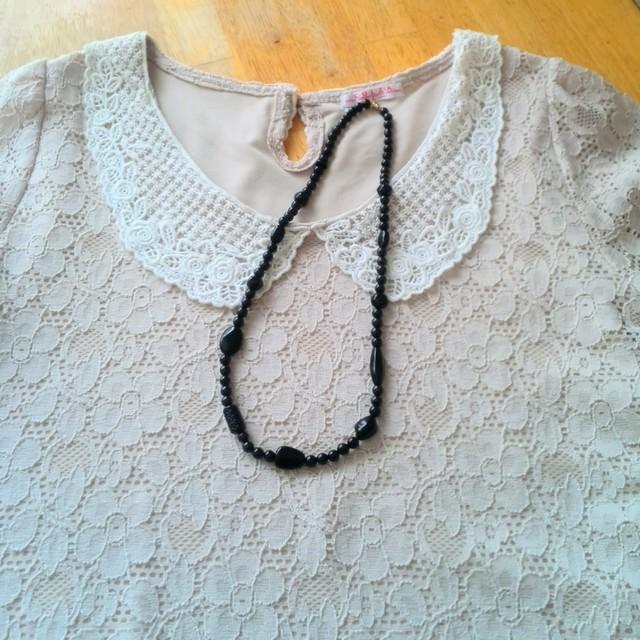 ブラックタイガーアイのネックレス