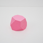"MEMO BLOCK ""POLYGON"" <PINK>"