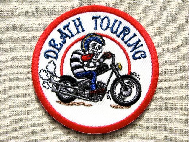 『DEATH TOURING RED』刺繍ワッペン・パッチ