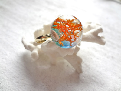 <SOLD> Seascape Ring V