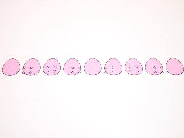 まわる乳卵マスキングテープ