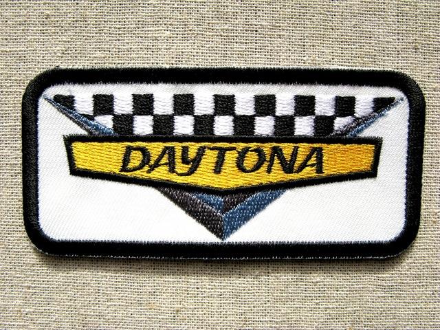 『DAYTONA』刺繍ワッペン・パッチ