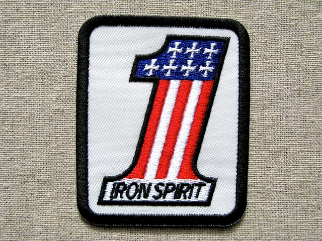 『IRON SPIRIT NO.1』刺繍ワッペン・パッチ