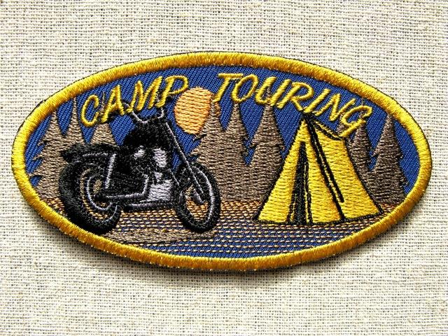 『CAMP TOURING』刺繍ワッペン・パッチ