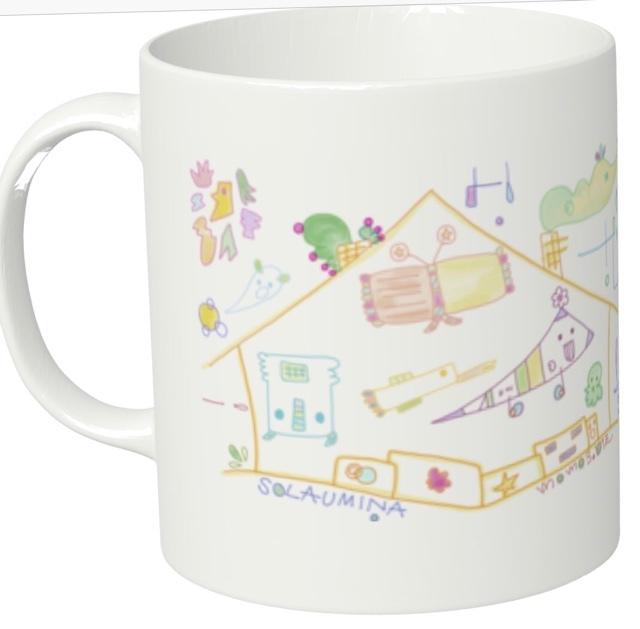 ★オリジナルキャラマグカップ★SOLAUMI...
