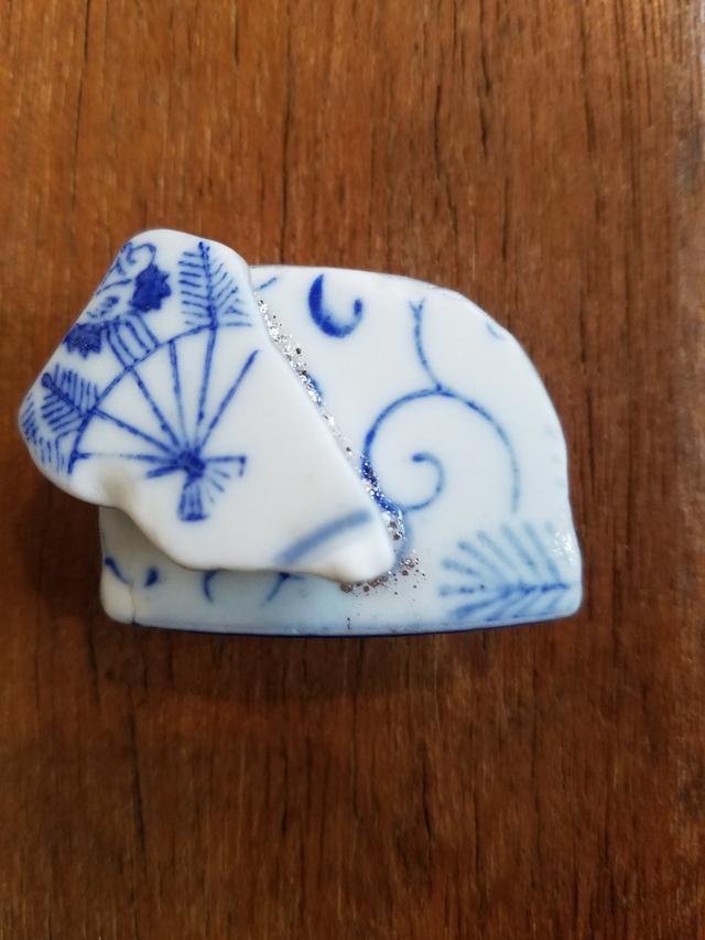 【送料無料】シー陶器の帯留め