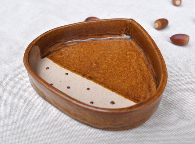 栗のグラタン皿 〜Mサイズ〜 (オーブ...