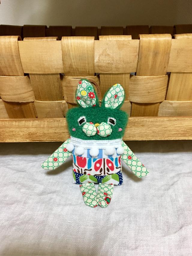 ウサやんバッグチャーム29(しっぽ付き)