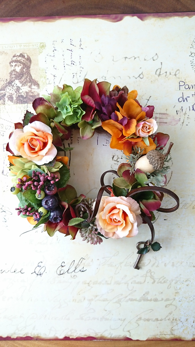 Autum story wreath