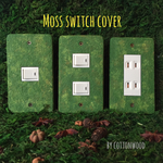 Moss switch  cover  モス スイッチ コンセント カバー