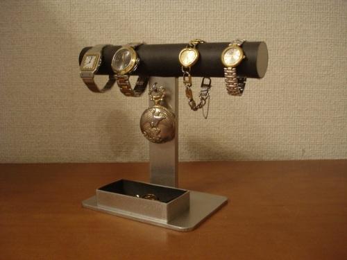 腕時計、懐中時計ブラックスタンド