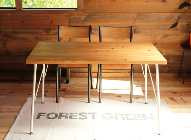 Lalix forest bench set 14*75(ow)