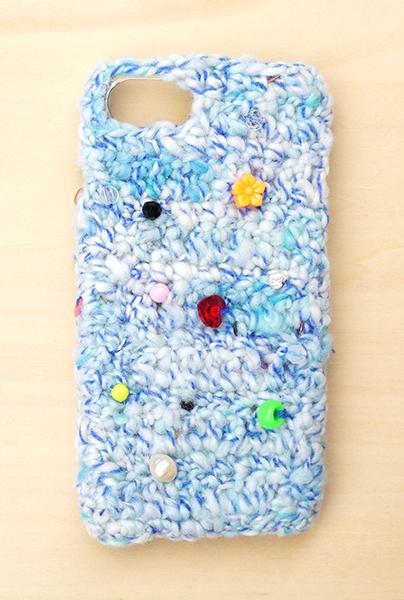 <受注>iPhone8ケース -お姫様のリボ...