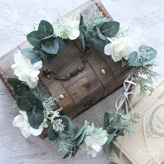 アジサイのハーベスト花冠