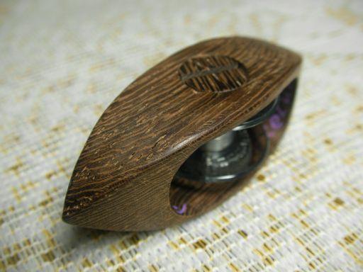 ボビン(11.5mm)式 鉄刀木(タガヤサン)