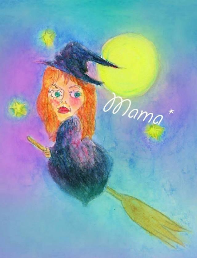 ママは魔女 ポストカードセット