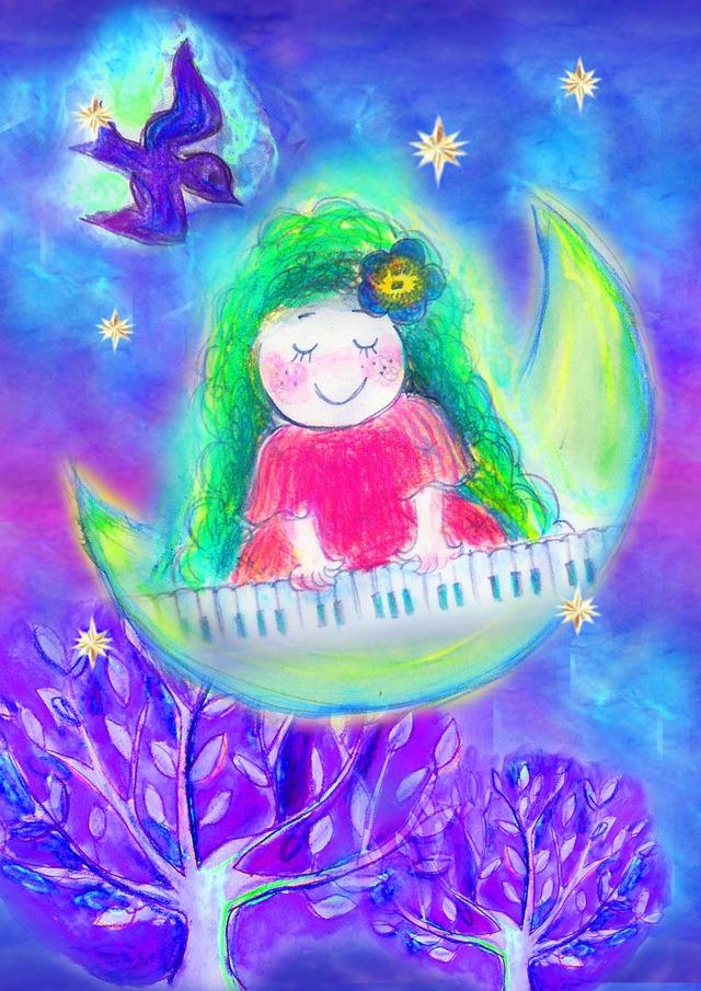 月の妖精 ポストカードセット