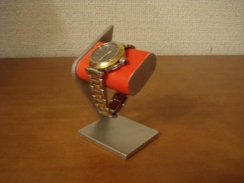 レッドシングルデザイン腕時計スタンド MN11