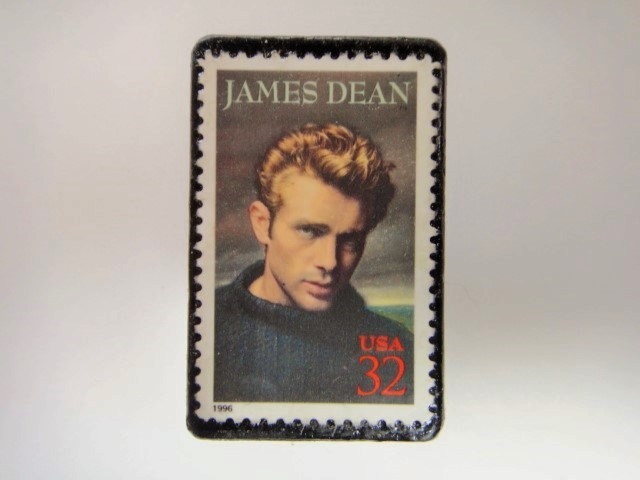 アメリカ 切手ブローチ 2919