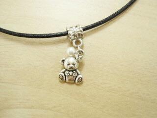 【7月31日迄値引き】小さなクマさんのネックレス
