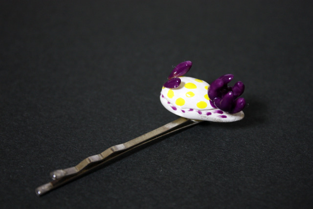 ウミウシのヘアピン-コモンウミウシ(売り切れ)
