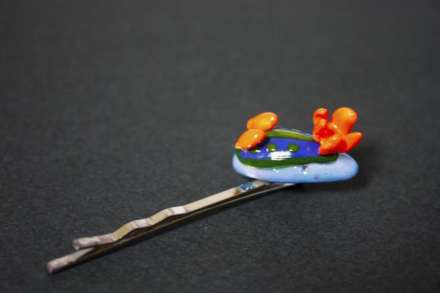 ウミウシのヘアピン-アオウミウシ