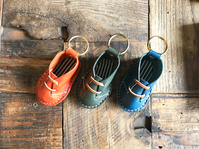leather shoes  Keyring