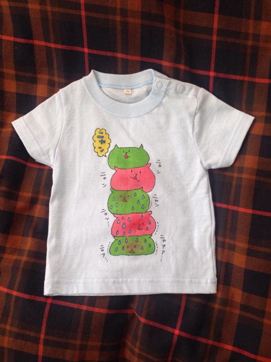 猫地獄キッズTシャツ  ニャンコムタワー