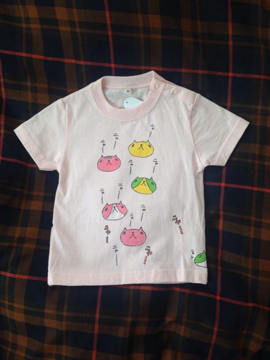 猫地獄キッズTシャツ