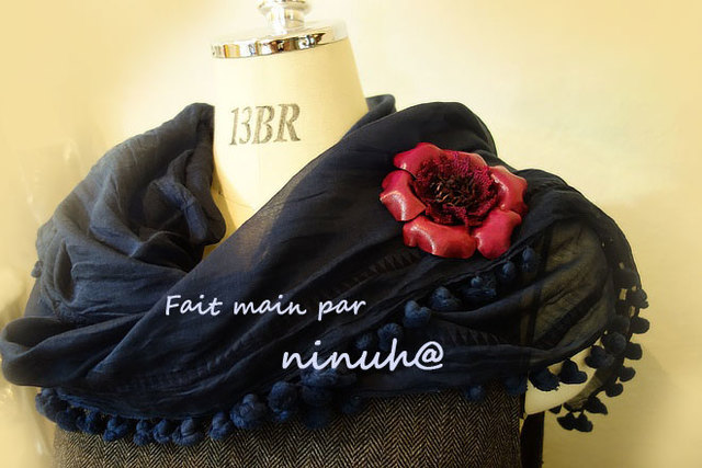 染革の花*Anémone