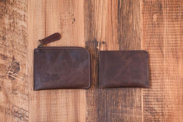 1aa5aa2a47b8 姫路産 馬革 L型コインケース 財布 手もみ シュリンク加工 チョコ ギフト ...