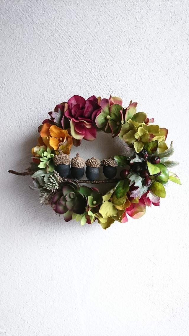 acorn  brothers  wreath