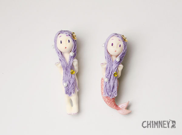 Little Little Mermaid [purple/human]