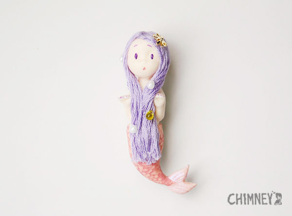Little Little Mermaid [purple/mermaid]