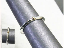 Accent  K18&925 Triangle  Ring 【受注製作】【1号から15号まで】 atpring123next2kg