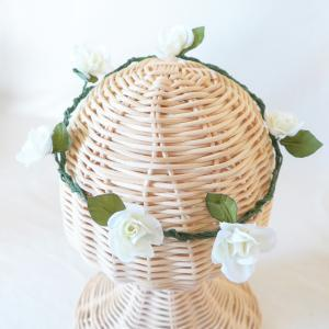 mini white rose coronal �ڲִ���